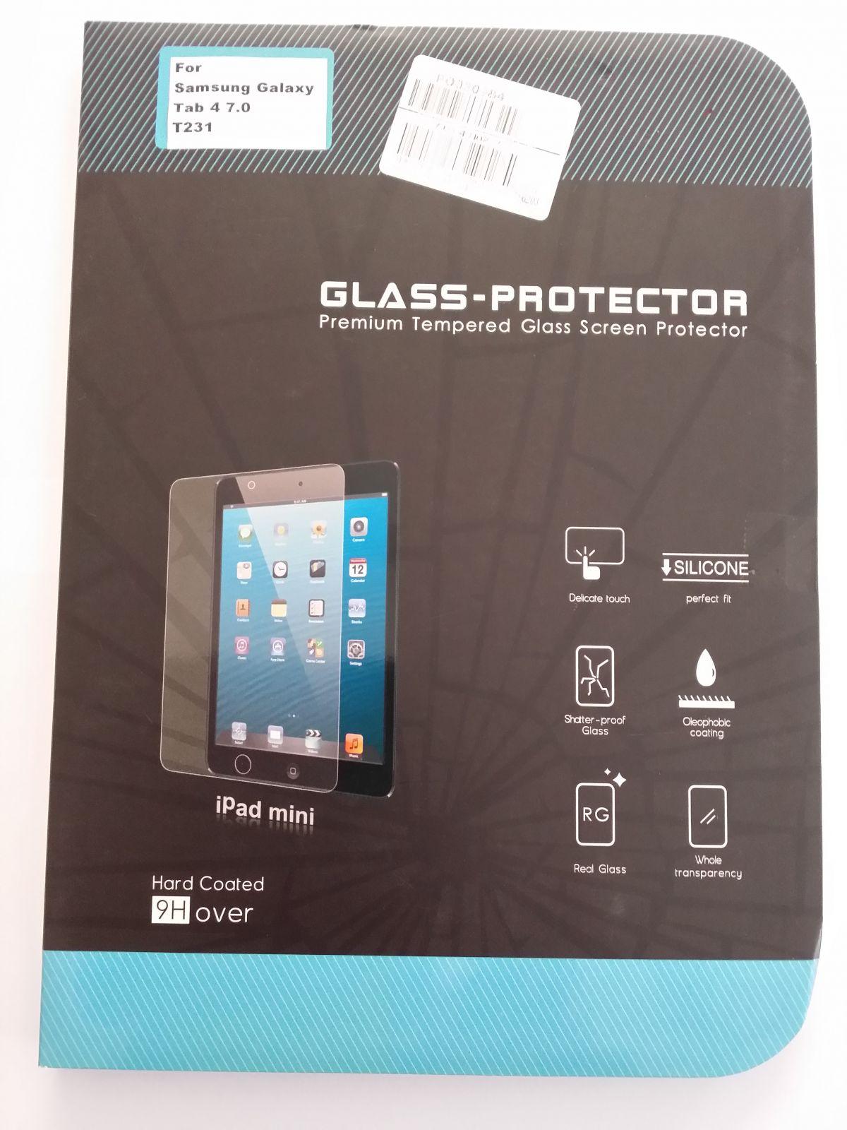 Tvrzené ochranné sklo pro Tablet Samsung Galaxy Tab 4 T230/T231 7' Screen Protector