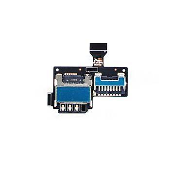 Samsung i9195 Galaxy S4mini Čtečka SIM a microSD Karet - Originál
