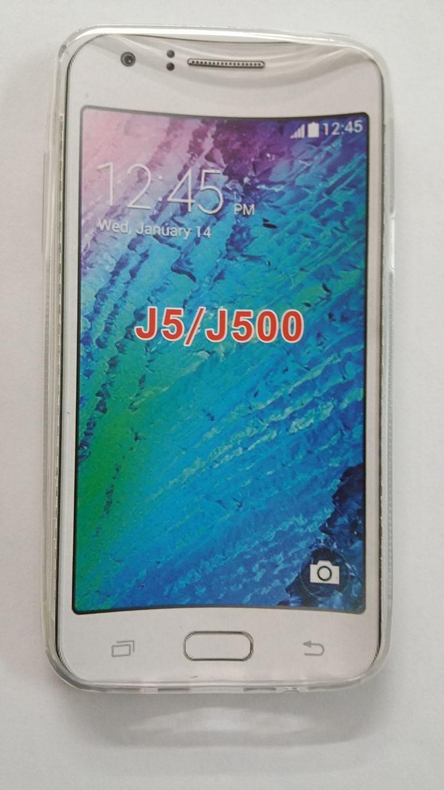 Pouzdro ForCell Lux S pro Samsung Galaxy J5/J500 čiré