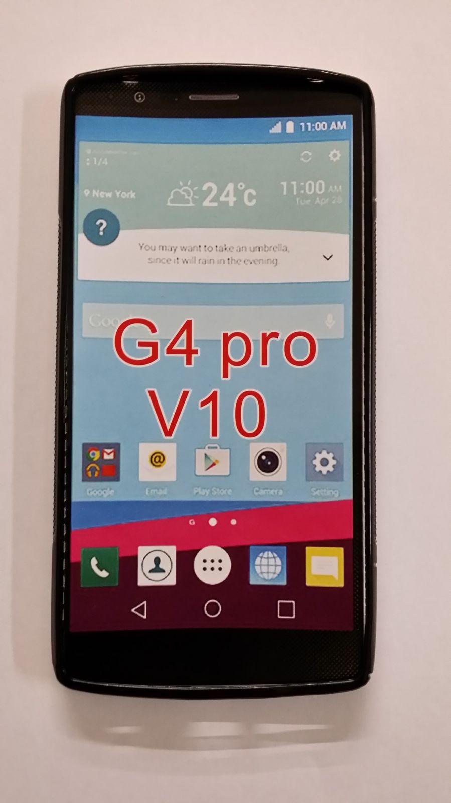 Pouzdro ForCell Lux S pro LG V10 černé