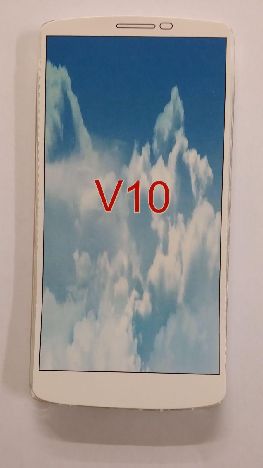 Pouzdro Back Case Ultra Slim 0,3mm LG V10 transparentní ForCell