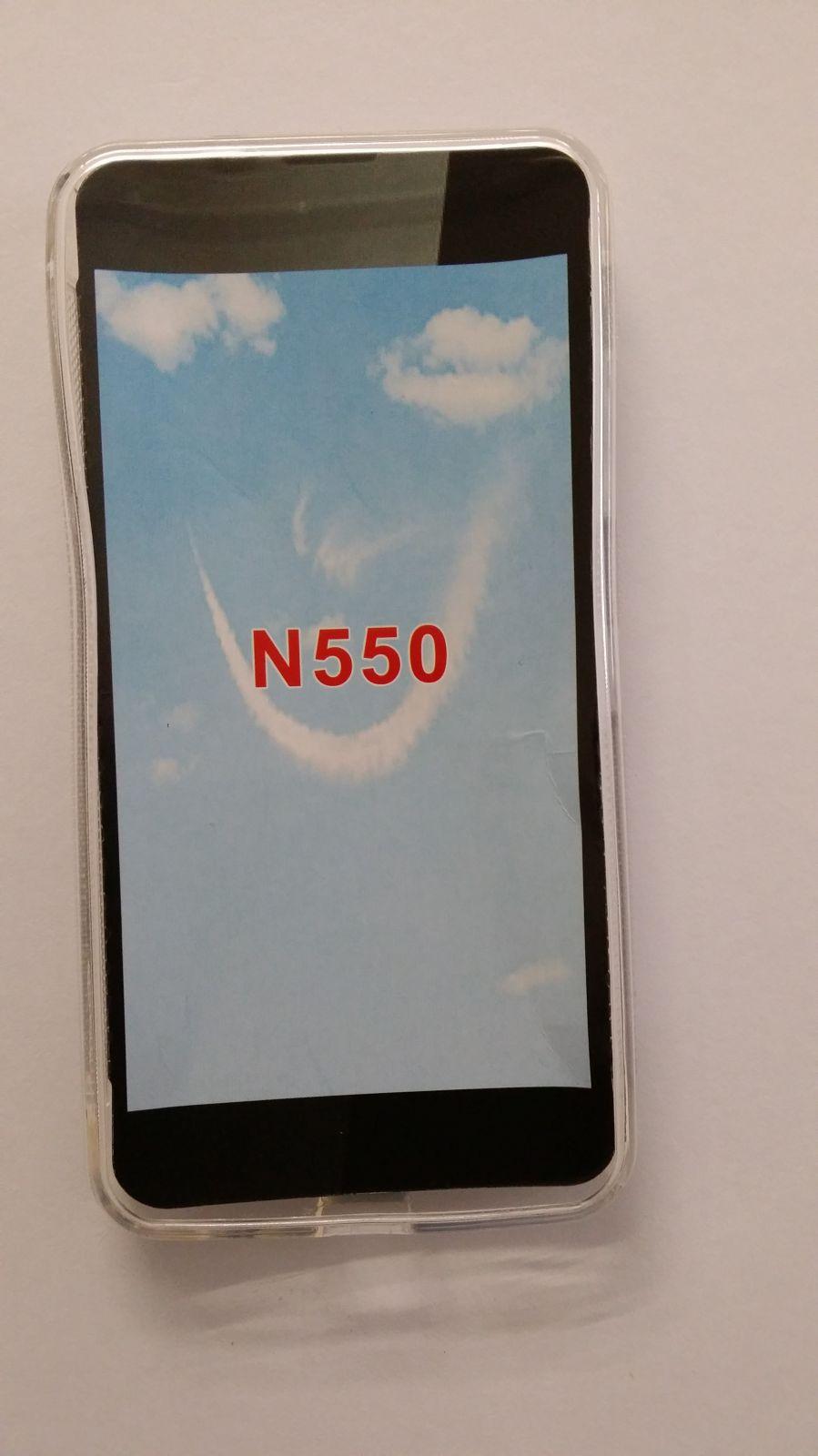 Pouzdro ForCell Lux S pro Microsoft Lumia 550 čiré