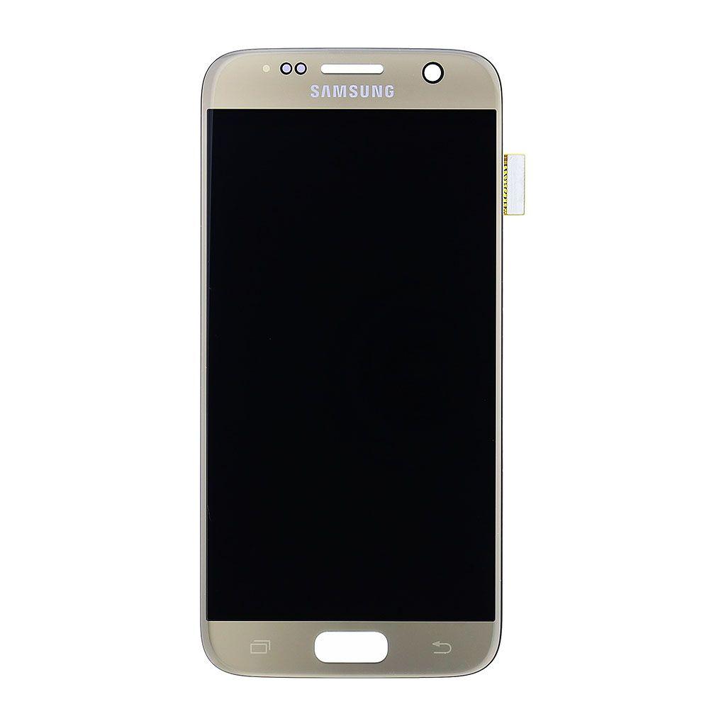 LCD display + Dotyk Samsung G930 Galaxy S7 Gold - originál