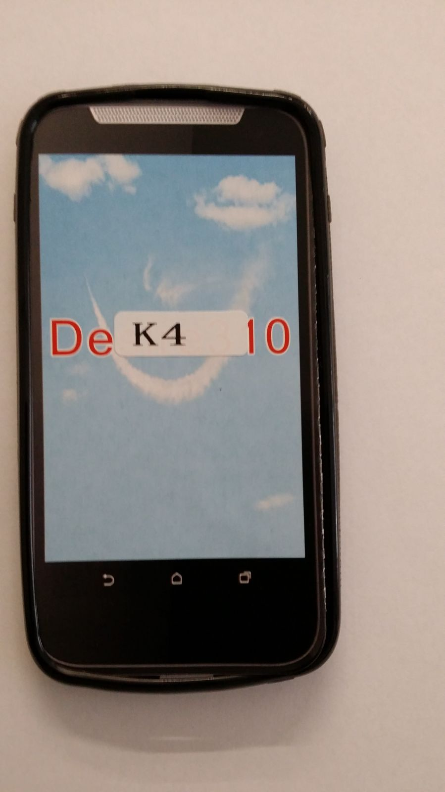 Pouzdro ForCell Lux S pro LG K4/K120 černé