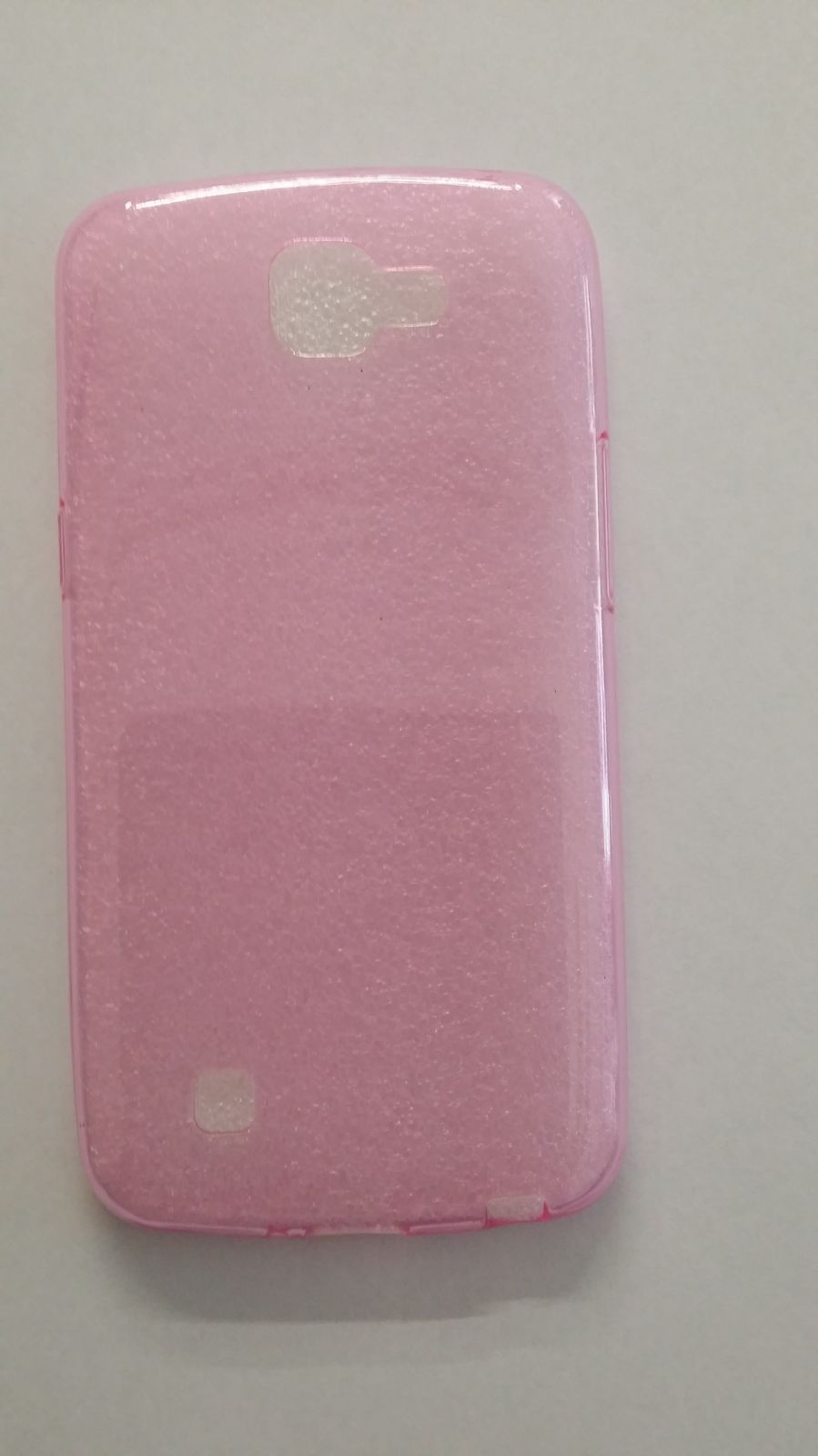 Pouzdro Back Case Ultra Slim 0,3mm LG K4/K120 růžové ForCell