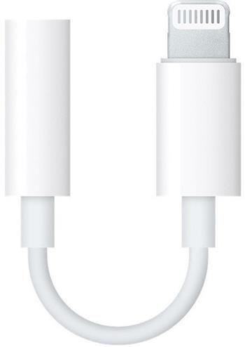 MMX62ZM/A iPhone Original Lightning/3,5mm Datový Kabel White (EU Blister)