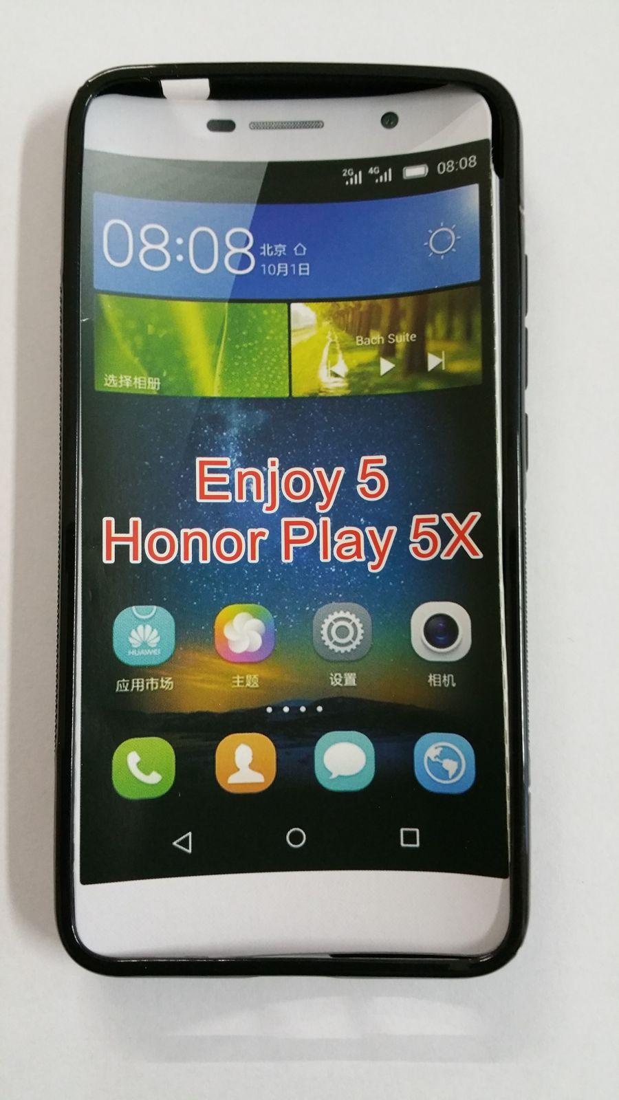 Pouzdro ForCell Lux S pro Huawei Y6 Pro černé