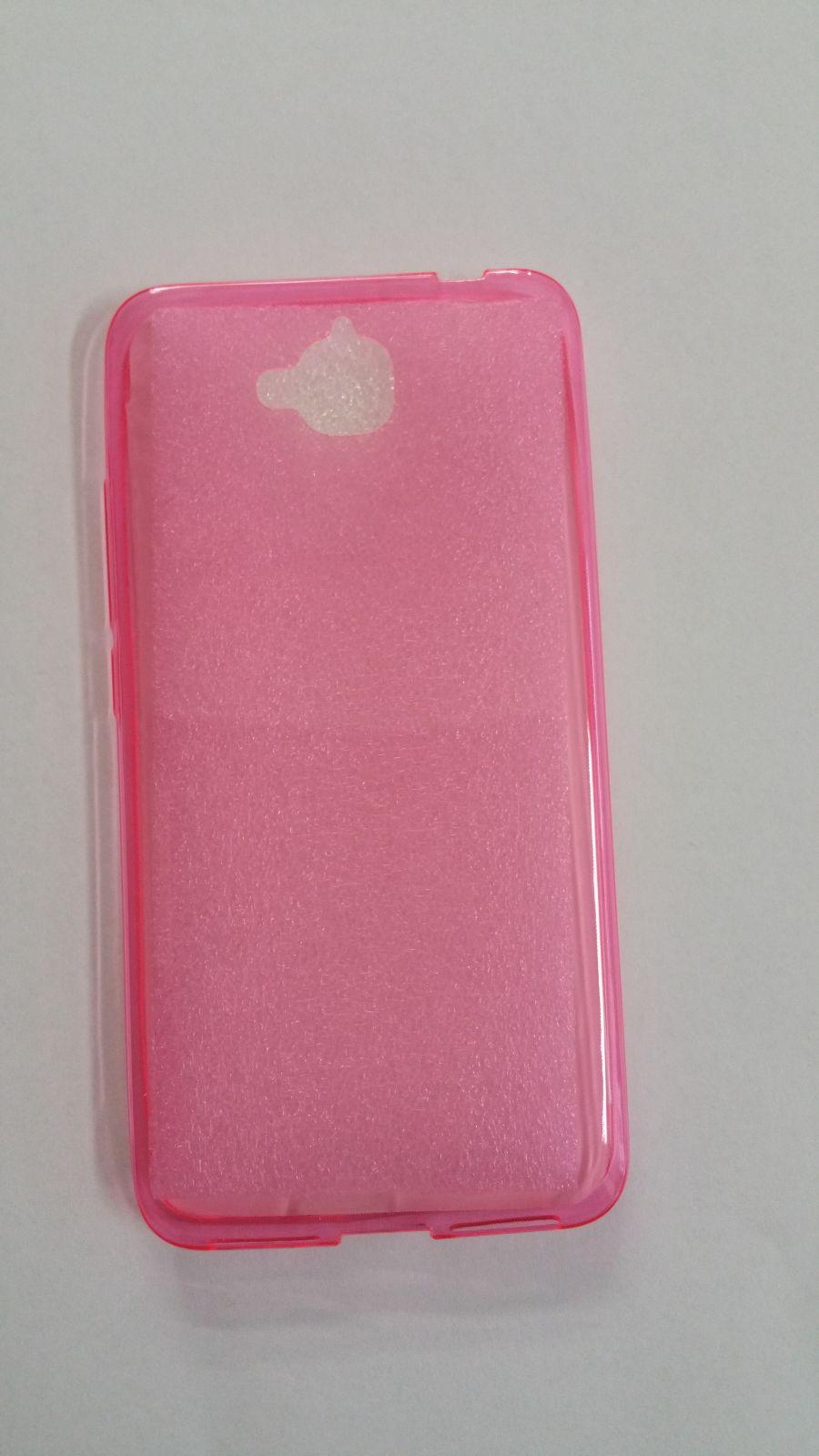 Pouzdro Back Case Ultra Slim 0,3mm Huawei Y6 Pro růžové ForCell