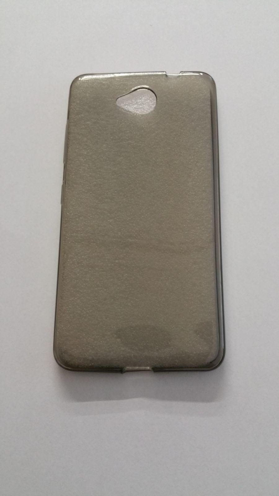 Pouzdro Back Case Ultra Slim 0,3mm Microsoft Lumia 650 šedé ForCell