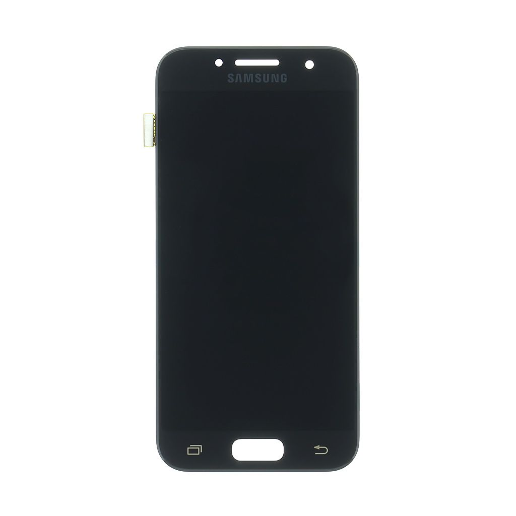 LCD display + Dotyk Samsung A320 Galaxy A3 2017 Black (Service Pack)
