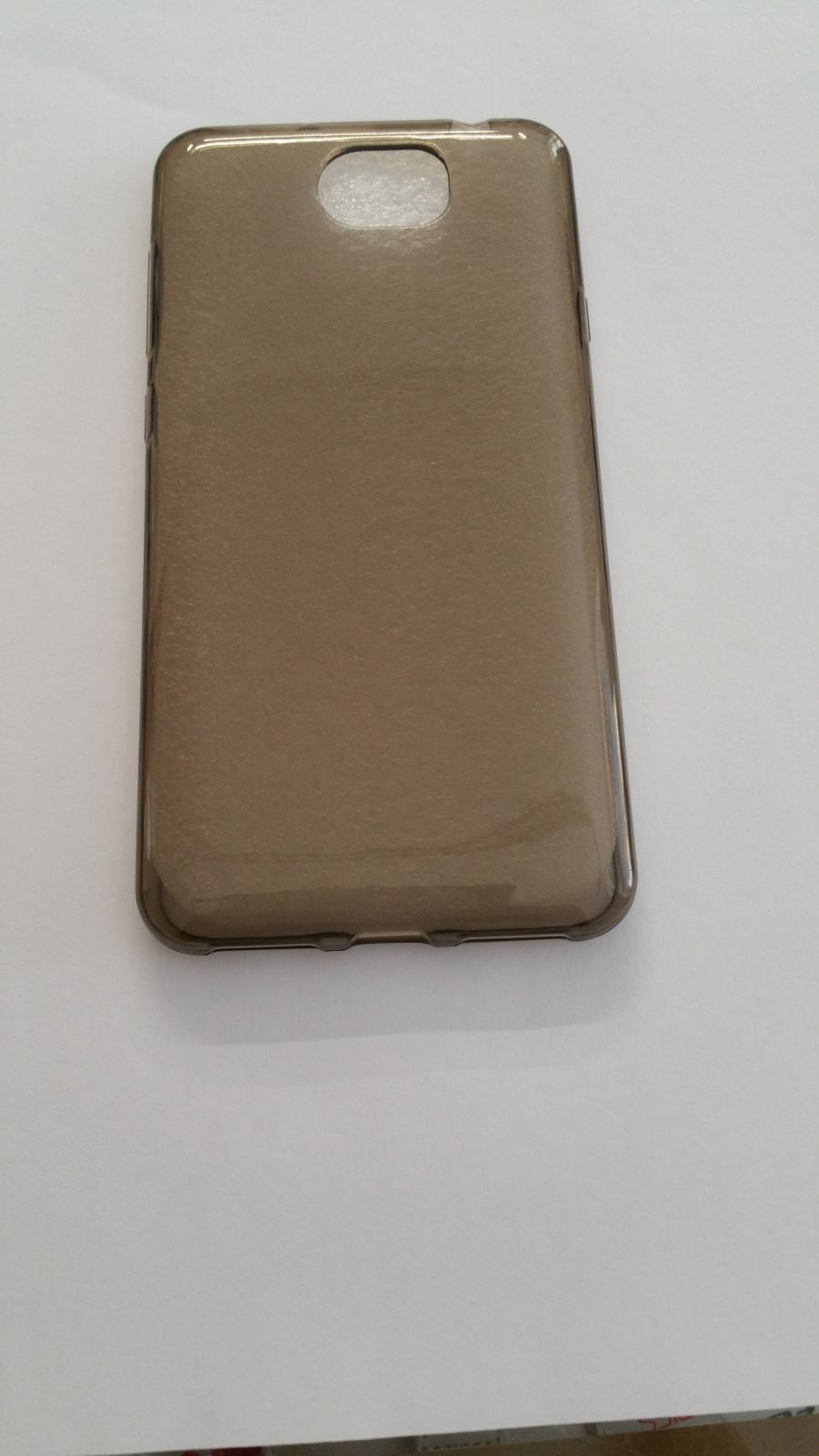 Pouzdro Back Case Ultra Slim 0,3mm HUAWEI Y6 II Compact šedé ForCell