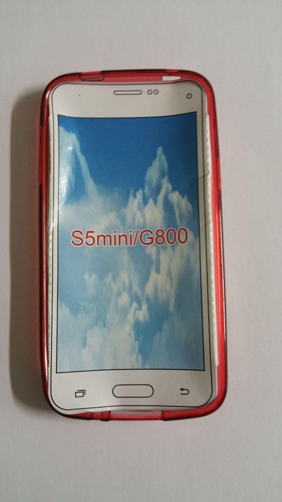Pouzdro ForCell Lux S pro Samsung Galaxy S5 mini/G800 červené