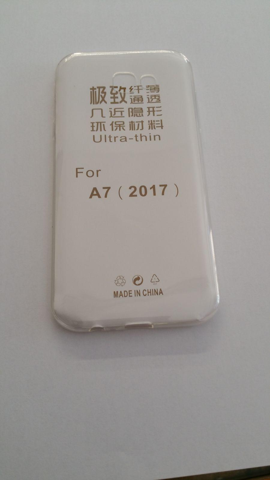 Pouzdro Back Case Ultra Slim 0,3mm Samsung Galaxy A7 (2017) transparentní ForCell