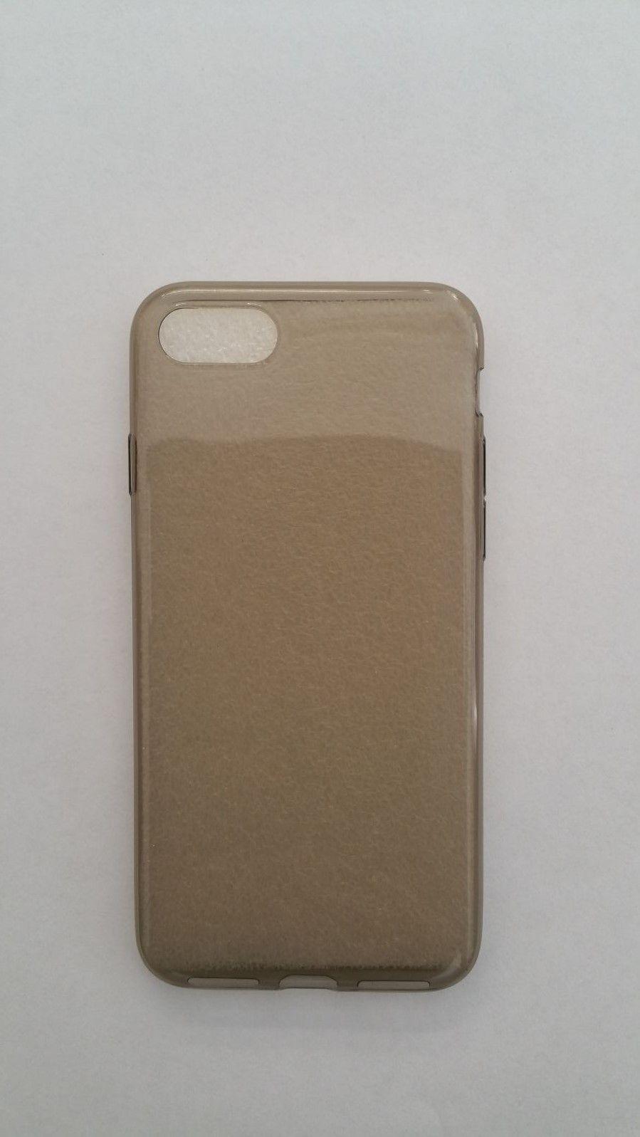 Pouzdro Back Case Ultra Slim 0,3mm Apple iPhone 7 šedé ForCell