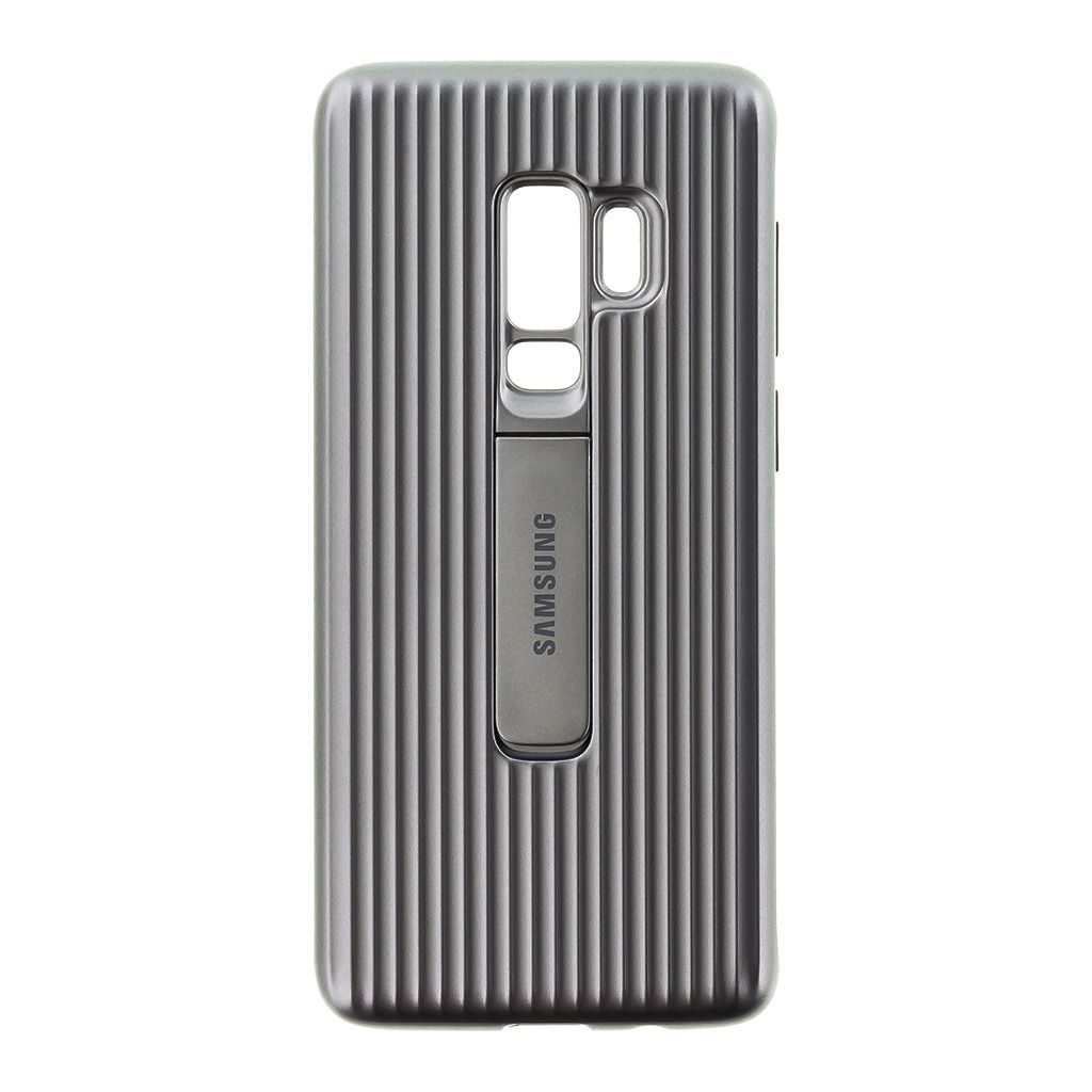 EF-RG965CSE Protective Standing Cover Silver pro Samsung Galaxy S9 Plus G965