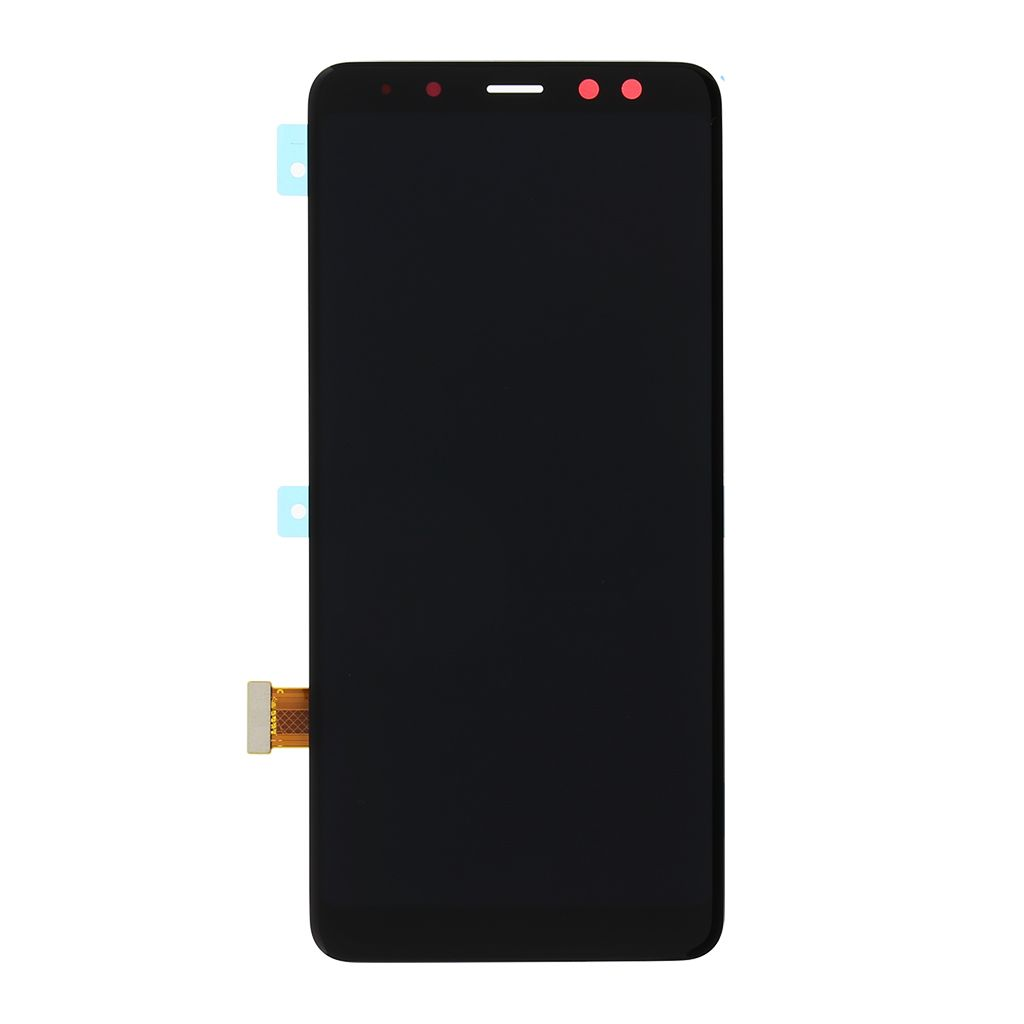 LCD display + Dotyk Samsung A530 Galaxy A8 2018 Black (Service Pack)
