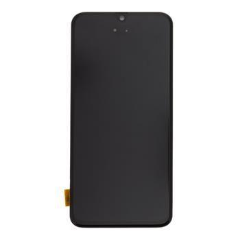LCD Display + Dotyková Deska + Přední Kryt Samsung A405 Galaxy A40 Black (Service Pack) - Originál