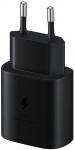 EP-TA800XBE Samsung Quickcharge 25W Cestovní nabíječka Black (EU Blister)