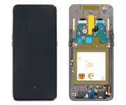LCD Display + Dotyková Deska + Přední Kryt Samsung A805F Galaxy A80 Black (Service Pack)