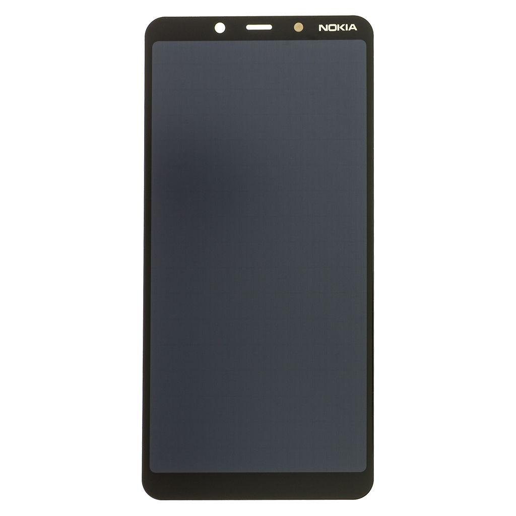 Nokia 3.1 Plus Dotyková Deska + LCD Display Black