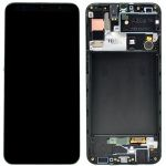 LCD display + Dotyk Samsung A307 Galaxy A30s Black (Service Pack)