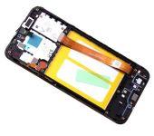 LCD display + Dotyk Samsung A202 Galaxy A20e Black (Service Pack)