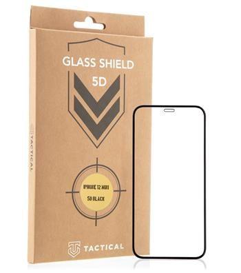 Tactical Glass Shield 5D sklo pro Apple iPhone 13 Mini Black 8596311155390