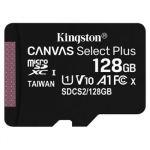 microSDXC 128GB Kingston Canvas Select + wo/a