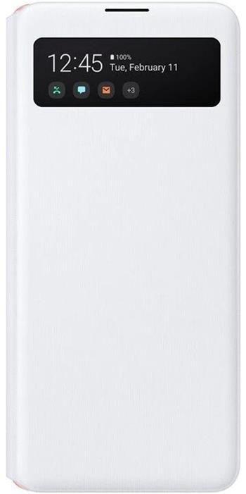 EF-EA516PWE Samsung S-View Pouzdro pro Galaxy A51 5G White