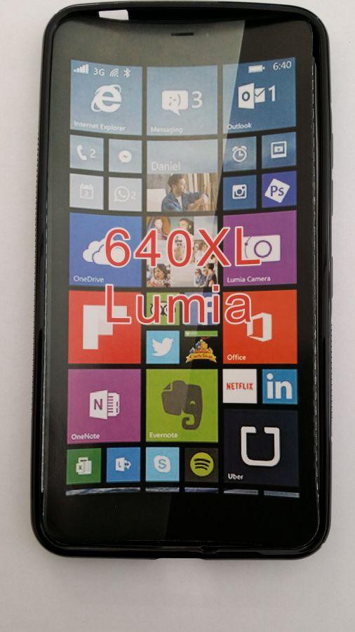 Pouzdro ForCell Lux S pro Microsoft Lumia 640 XL černé
