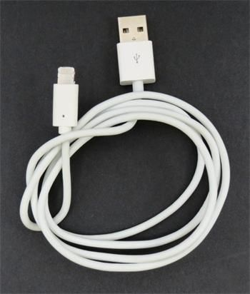 iPhone 5 Datový Kabel White OEM (Bulk)