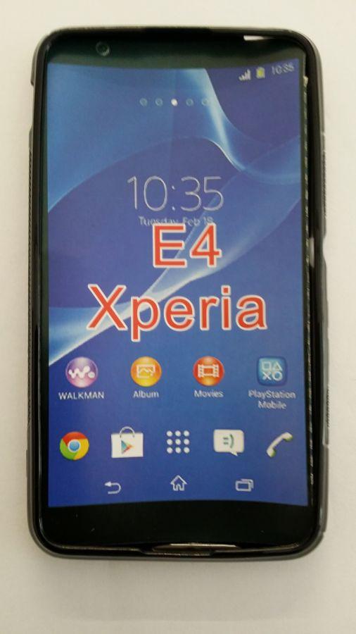 Pouzdro ForCell Lux S pro Sony Xperia E4 černé