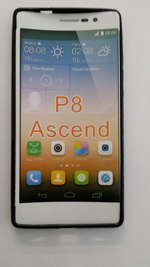 Pouzdro ForCell Lux S pro Huawei Ascend P8 černé