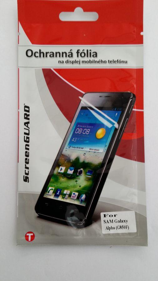 Ochranná folie Mobilnet Samsung Galaxy Alpha/G850F