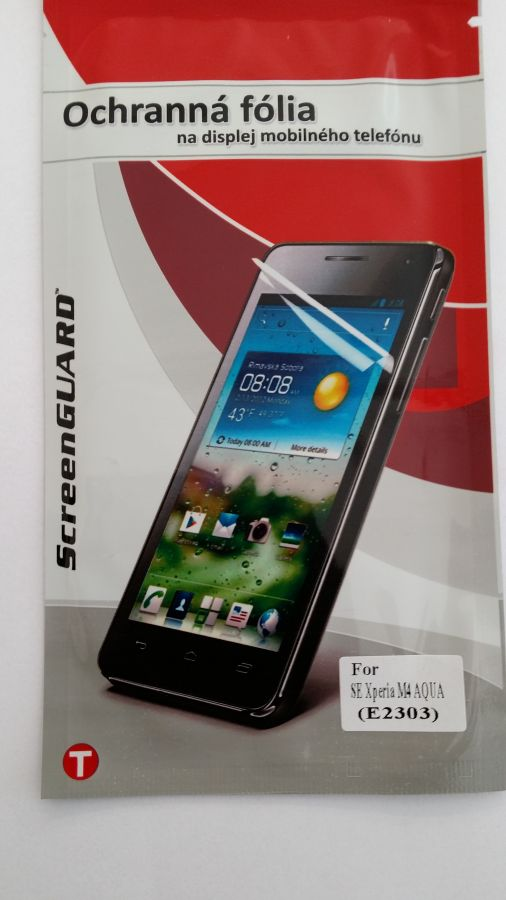 Ochranná folie Mobilnet Sony Xperia M4 Aqua/E2303