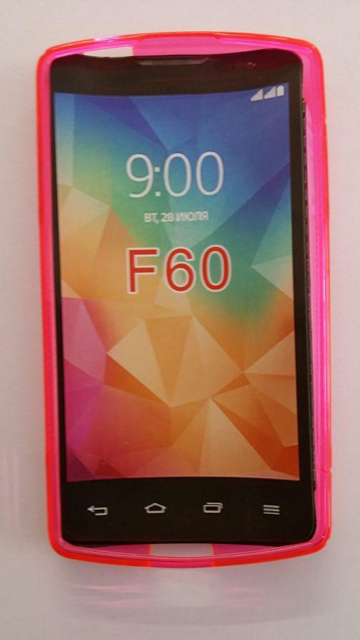 Pouzdro ForCell Lux S pro LG F60/D390N růžové