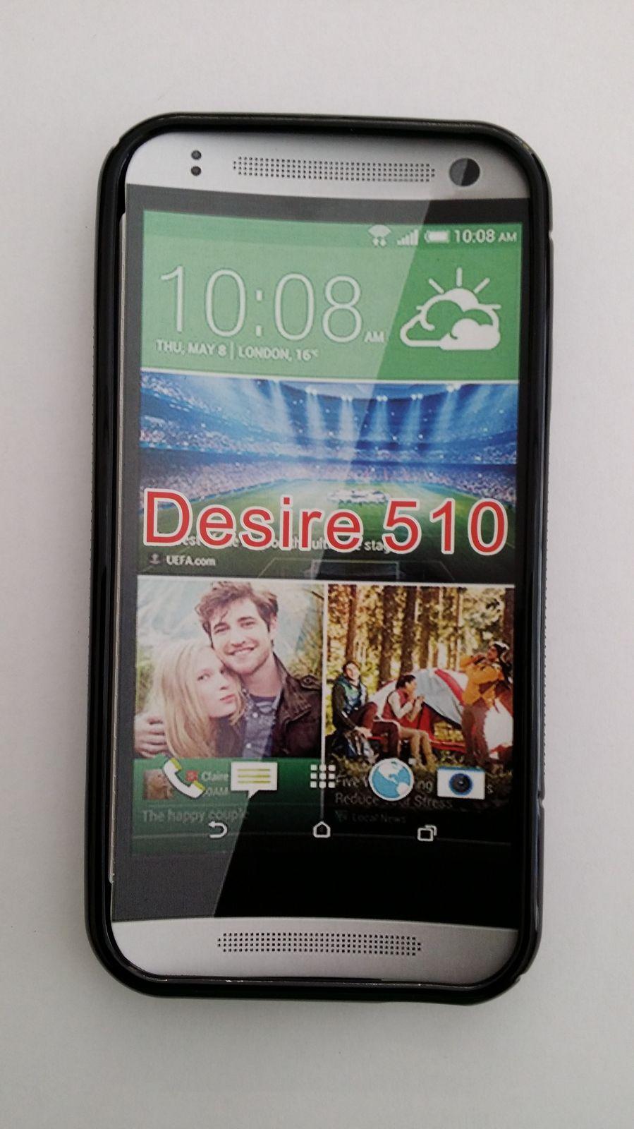 Pouzdro ForCell Lux S pro HTC Desire 610 černé