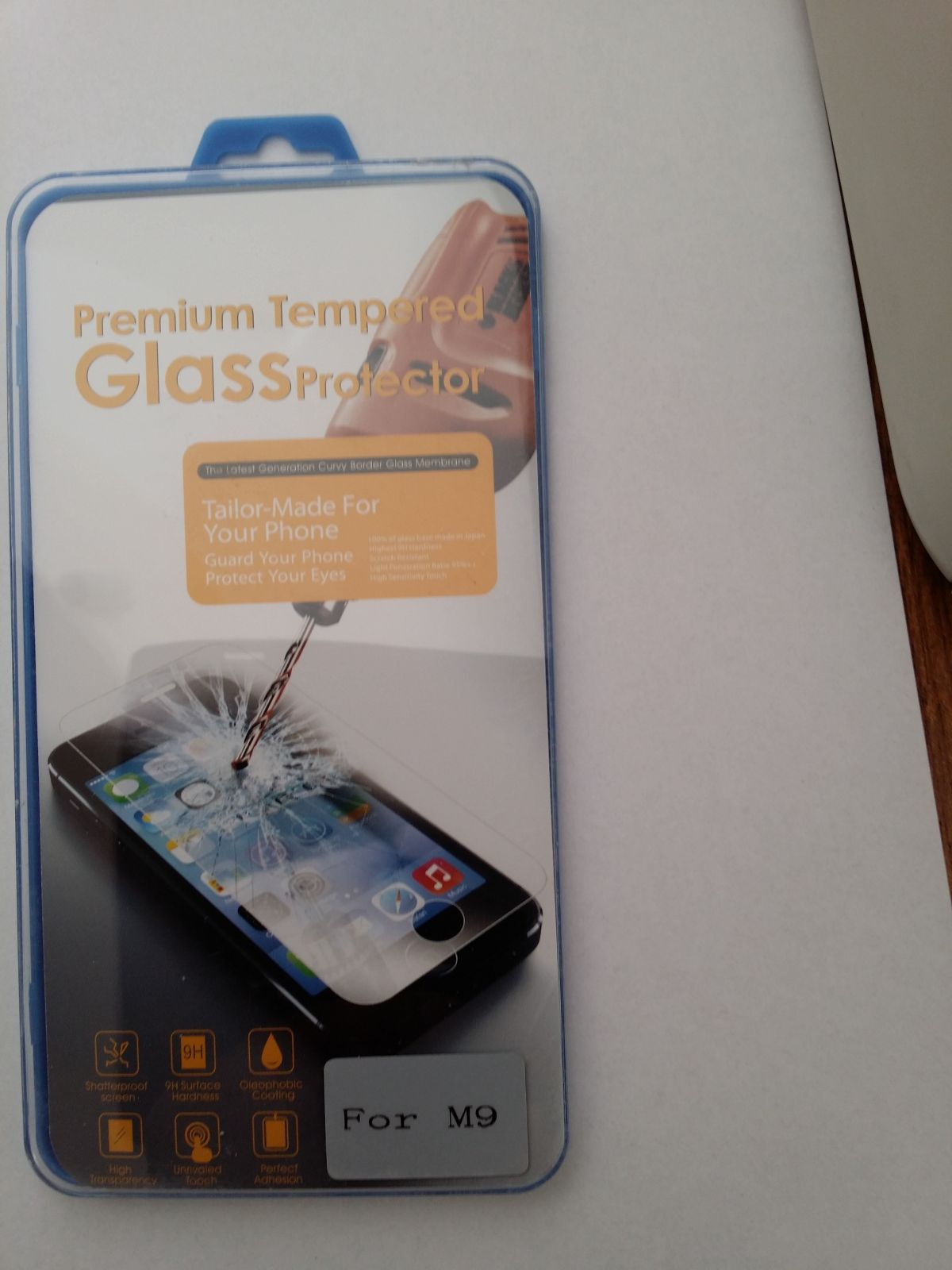 Tvrzené Sklo pro HTC One M9 Screen Protector